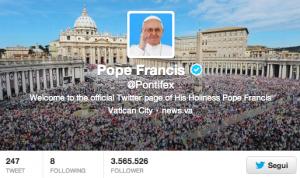"""Papa Francesco e l'era digitale: """"Internet dono di Dio. I media ci avvicinano"""""""
