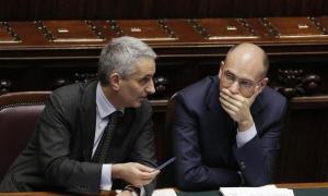Gaetano Quagliariello con il premier Enrico Letta