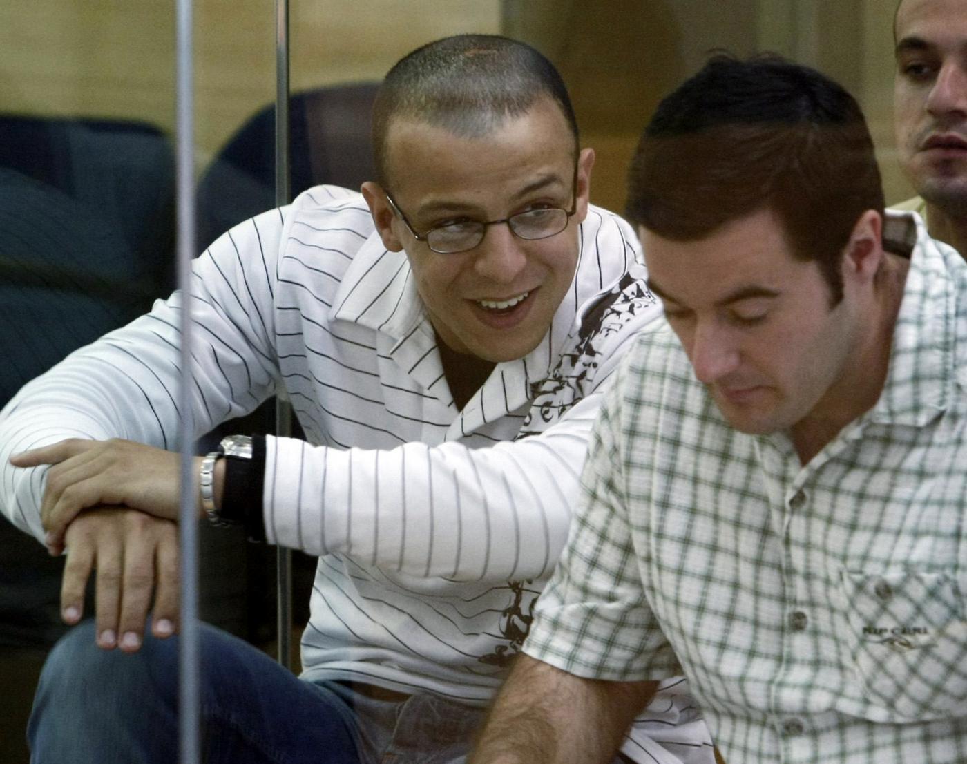 Rafa Zouhier al processo per la strage alla stazione di Atocha (11 marzo 2004) - foto LaPresse