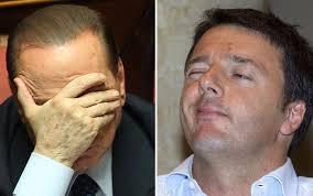 Berlusconi detta la linea: difesa di Renzi, scissione Pd, vittoria finale