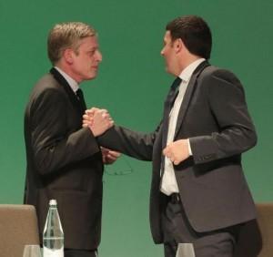 """Renzi: """"Preferenze? Come quando vi siete candidati.."""" E Cuperlo se ne va (video)"""