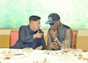 Dennis Rodman, star dell'Nba in Corea del Nord per il compleanno di Kim Jong-un