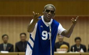 Dennis Rodman come Marilyn