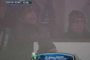 Sassuolo-Milan, Galliani impietrito dopo quarto gol Berardi (video)