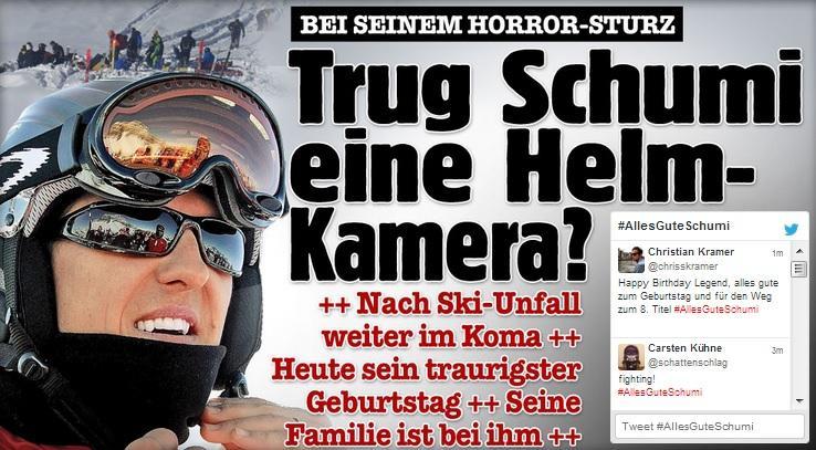 """Michael Schumacher aveva telecamera montata sul casco"""