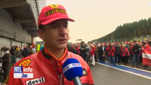 Michael Schumacher, fan in corteo nel circuito di Spa