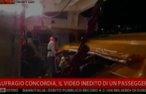 Concordia, due anni dopo spunta il video inedito del passeggero