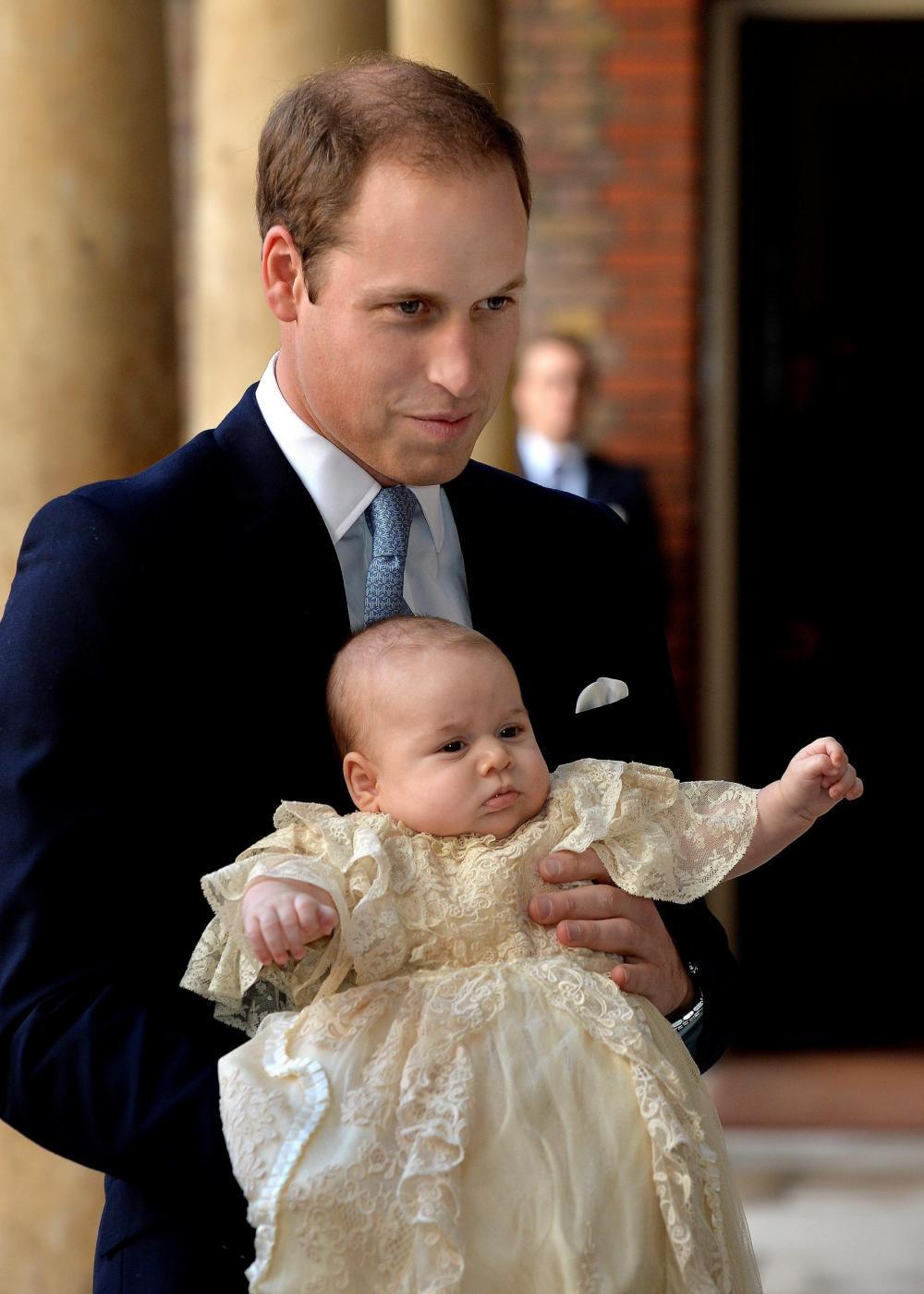 Il principe George (Foto Lapresse)