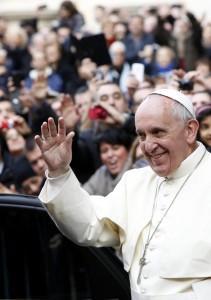 Papa Francesco annuncia viaggio in Terra Santa