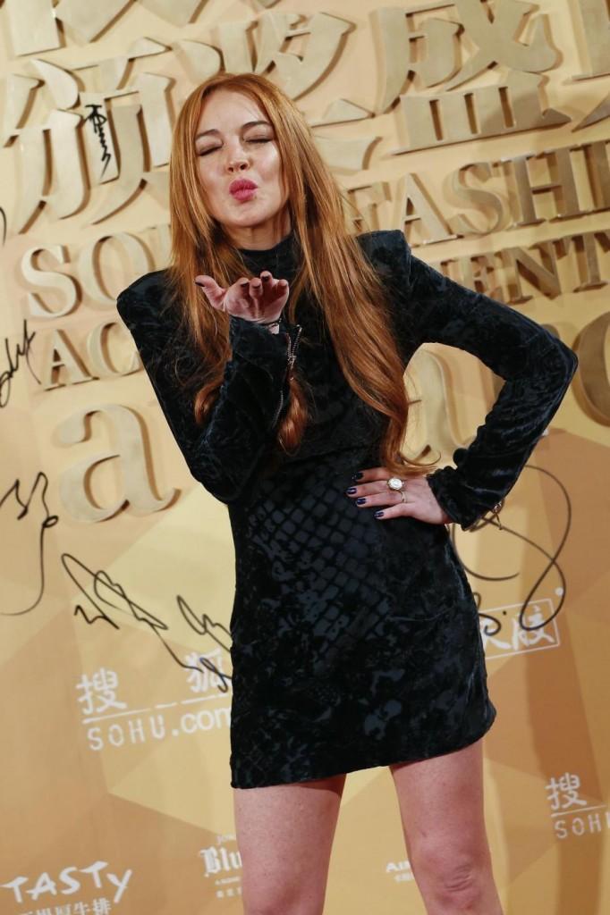 Lindsay Lohan, rubato pc con foto hot. Offre ricompensa a chi lo recupera