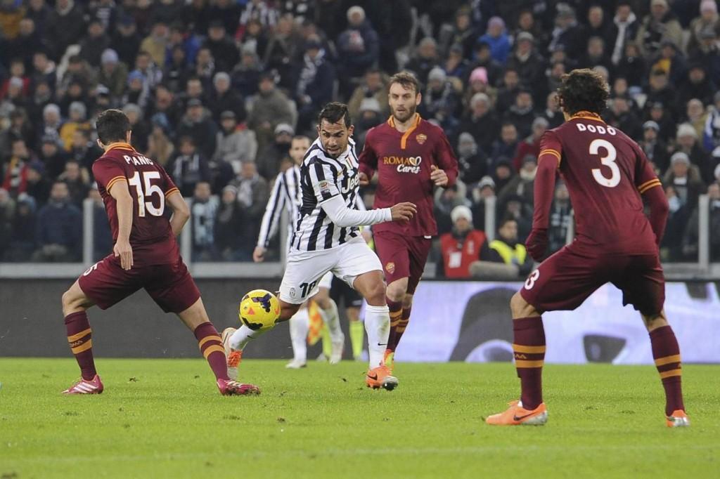 Coppa Italia, il tabellone dei quarti di finale: si inizia con Roma-Juve