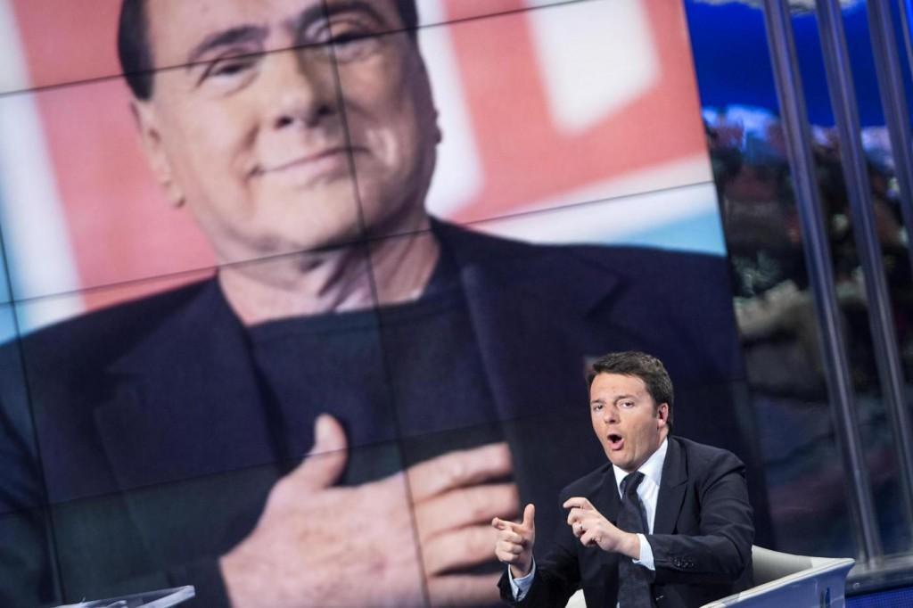 """Berlusconi: """"Non sono riforme di Renzi ma le nostre"""""""