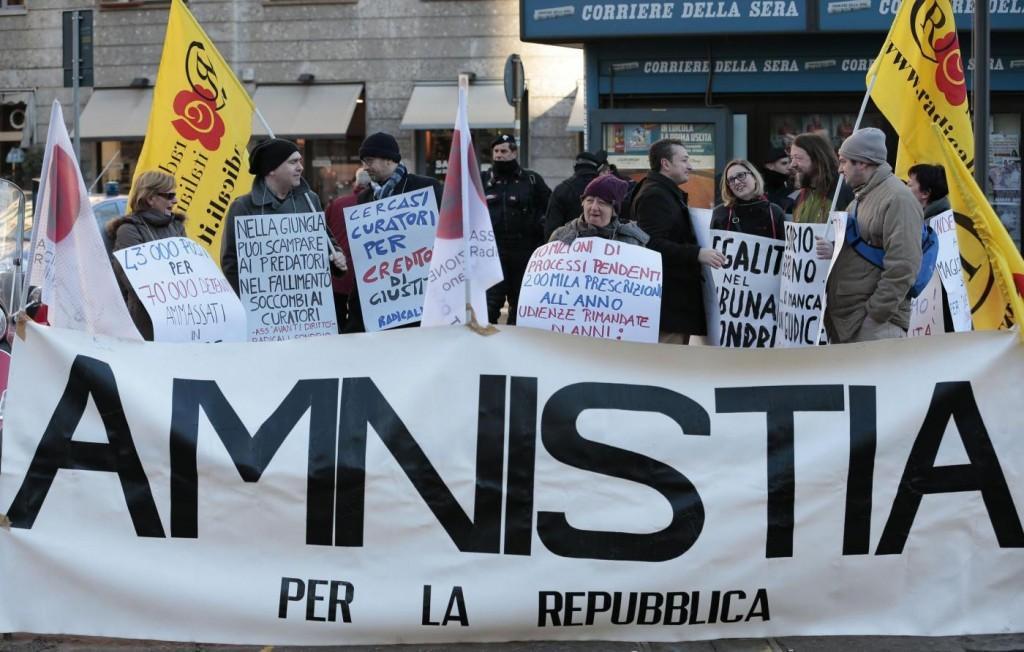"""Anno Giudiziario, Radicali contestano Renzi: """"Non vuole l'amnistia"""""""