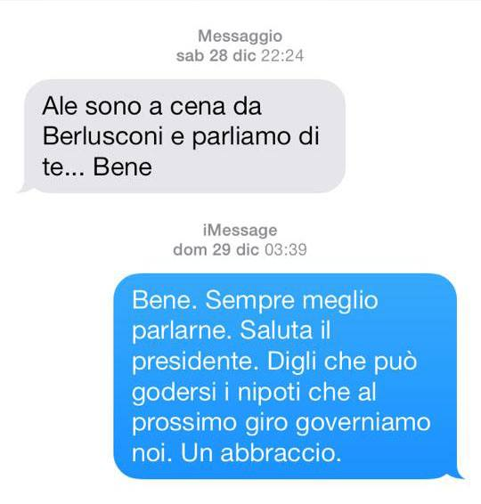 M5s, Alessandro Di Battista, Berlusconi mi voleva. Ecco gli sms