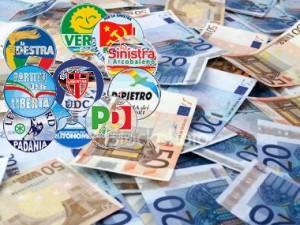 """Soldi ai partiti: dal '94 una """"stecca"""" di 2 mld. Ricevuti 2,7 mld, spesi 700 mln"""
