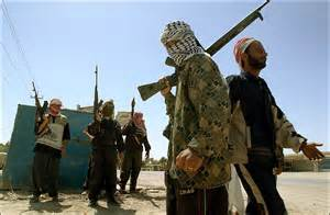 Guerriglieri sunniti
