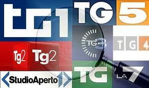 Tg1 Rai. Mario Orfeo + 0,59 di share, Tg3 Berlinguer - 0,46, Tg5 Mimum - 0,25