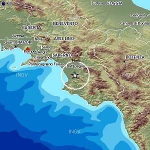 Terremoti, due scosse di magnitudo 3.7 in provincia di Salerno