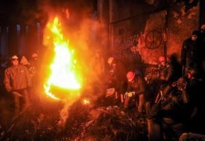 Ucraina: opposizione dice no a Ianukovich, guerra civile a un passo (foto Ansa)
