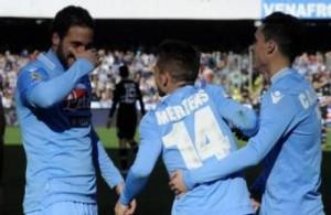 Verona-Napoli 0-3, video gol: Mertens ancora una prodezza (LaPresse)