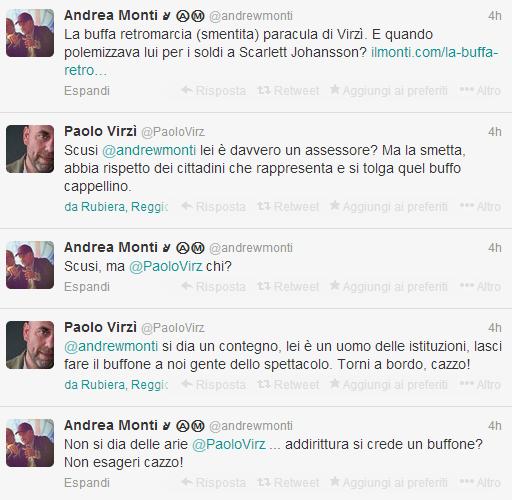 """Paolo Virzì su Twitter contro assessore leghista: """"Torni a bordo, cazzo!"""""""