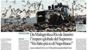 Manlio Cerroni, da Malagrotta a Rio de Janeiro: l'impero del Supremo