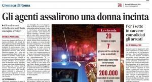 L'articolo di Marco De Risi del Messaggero
