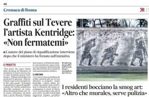 """Roma, residenti bocciano la smog art: """"Altro che murales, serve pulizia"""""""