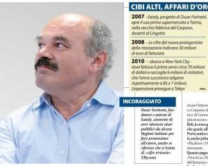 Oscar Farinetti, l'intervista a Libero