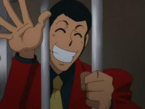 Lupin dietro le sbarre