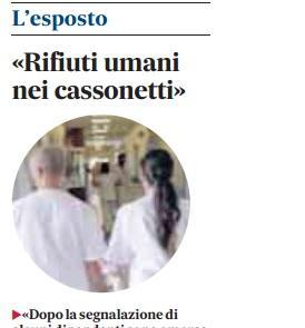"""""""Rifiuti umani nei cassonetti speciali"""", l'esposto di Teresa Pascucci"""
