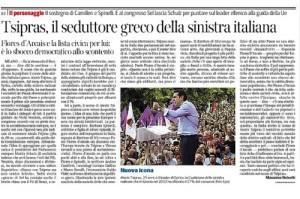 Alexis Tsipras, il seduttore greco della sinistra italiana
