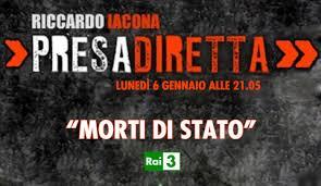 """""""Morti di Stato"""", Presa Diretta: Cucchi, Sandri, Aldrovandi..."""