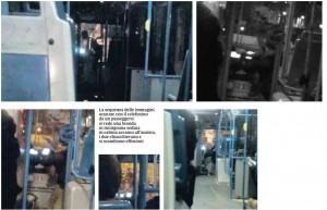 La sequenza di foto scattate dai passeggeri e pubblicate dal Messaggero