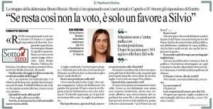 L'intervista a Repubblica