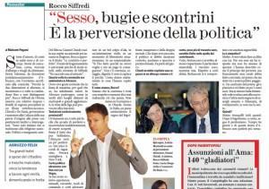 """Rocco Siffredi: """"Sesso, bugie e politica perversa. Chiodi? Meglio Berlusconi"""""""