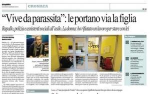 """Rapallo, il Tribunale: """"Vive da parassita"""". E le portano via la figlia"""