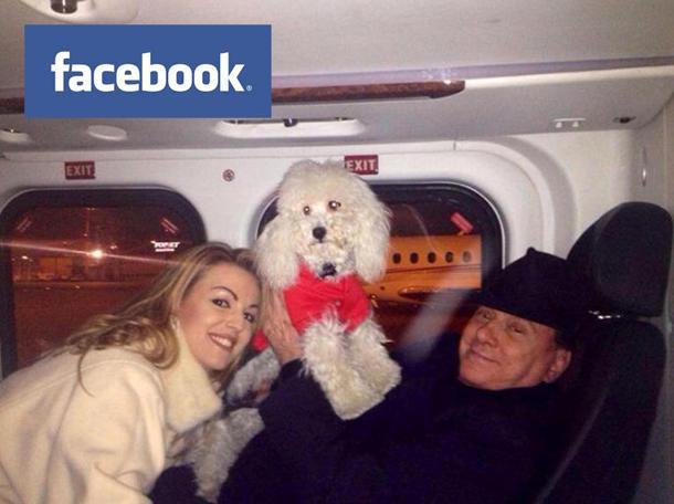 Il cagnolino Dudù mette ko Silvio Berlusconi