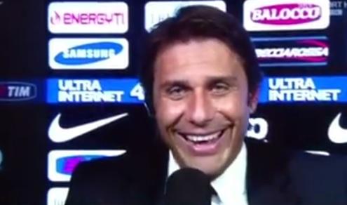 """Antonio Conte: """"Rigore su El Kaddouri? Fortuna che l'arbitro ha deciso bene..."""""""