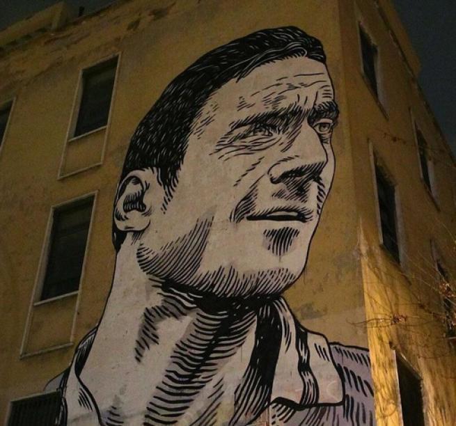 Francesco Totti, sfregiato il mega murales in suo omaggio