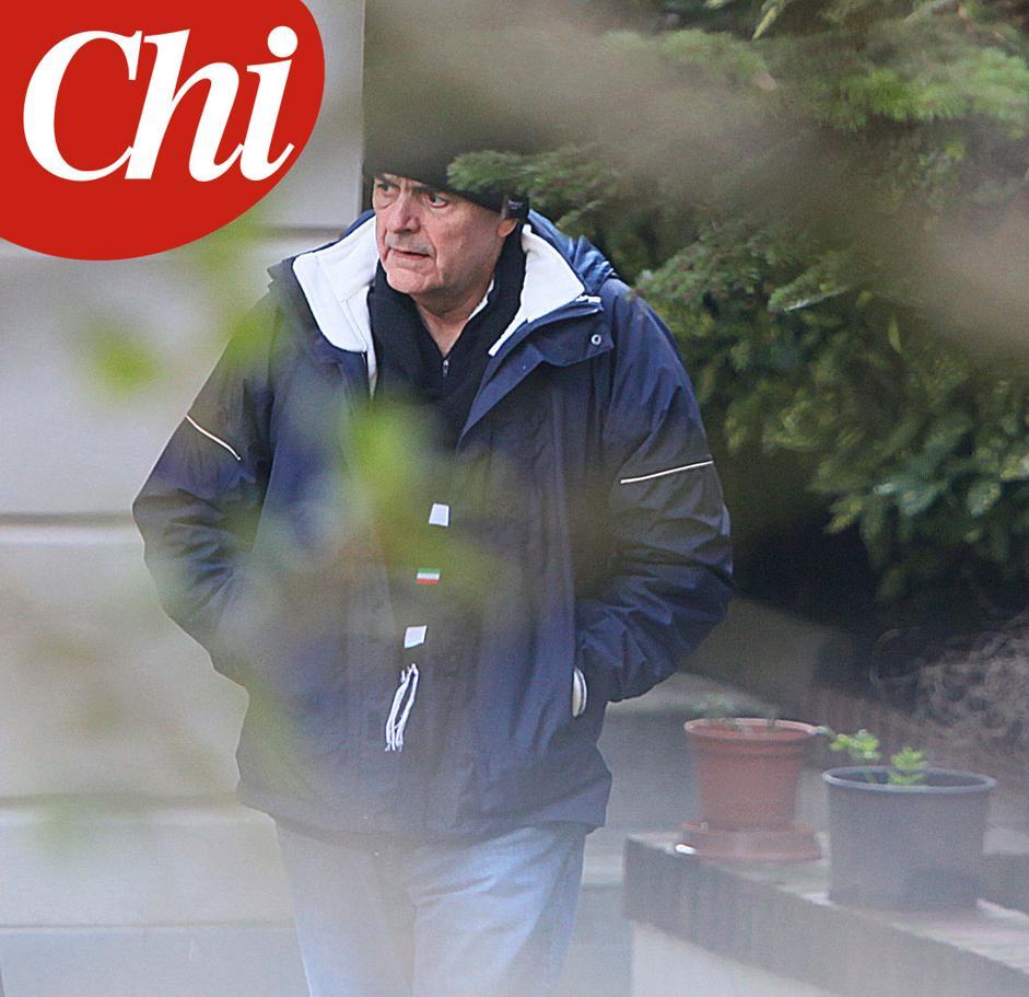 Pier Luigi Bersani dopo il ricovero