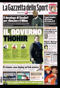 Inter, il governo Thohir: società, mercato e Zanetti (Gazzetta dello Sport)