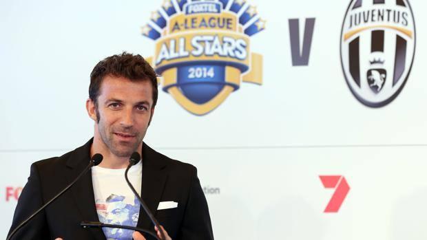 Alessandro Del Piero sfida la Juve, il 10 agosto amichevole a Sydney