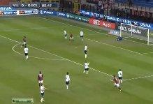 Milan-Bologna, Tiziano Crudeli: Balotelli gol lo fa esplodere (video)