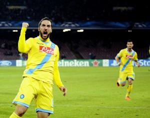 "Napoli-Roma, Higuain: ""Finale meritata, tifosi meravigliosi"" (LaPresse)"
