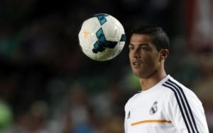 Real Madrid, stangata per Cristiano Ronaldo: tre turni di squalifica (LaPresse)