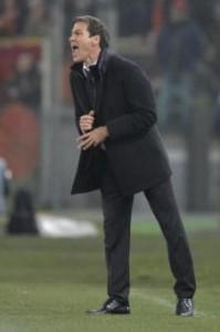 Coppa Italia, Roma-Napoli: Rudi Garcia nella foto LaPresse