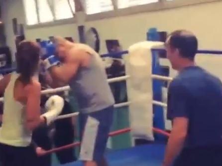 Ronaldo, la fidanzata lo mette ko (video)