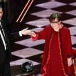 Sanremo, Franca Valeri e la telefonata a mammà02