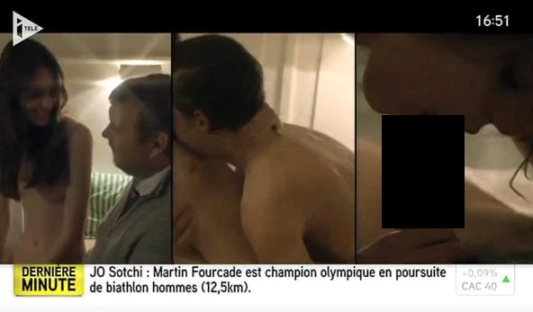 Sesso orale in diretta gaffe del tg francese con Nymphomaniac